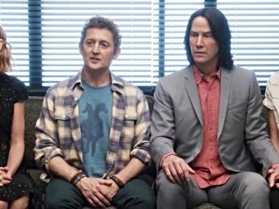 Bill and Ted Face the Music Gets Described as a Twisted Take on A Christmas Carol