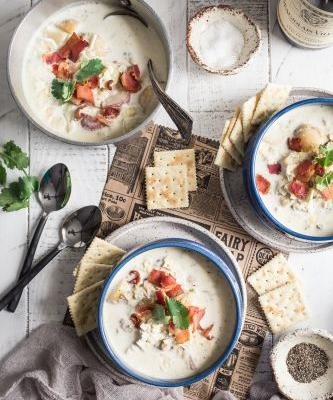 New England Clam Chowder {Gluten-Free}