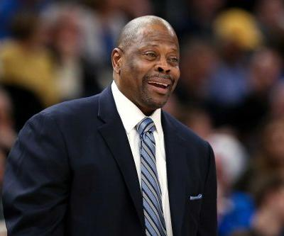 NBA icon Patrick Ewing is at home recovering after testing positive for the coronavirus
