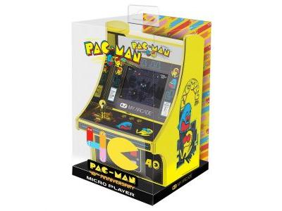 Pac-Man is getting a $40 golden micro cabinet for his 40th anniversary