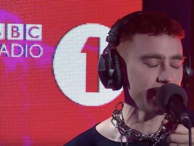 """Watch Years & Years Cover Ariana Grande's """"No Tears Left To Cry"""""""