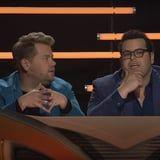 Watch James Corden and Josh Gad Prove Why They'd Be the Worst Judges on The Masked Singer