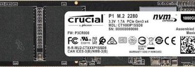 Crucial's First NVMe SSD: P1 M.2 With QLC NAND