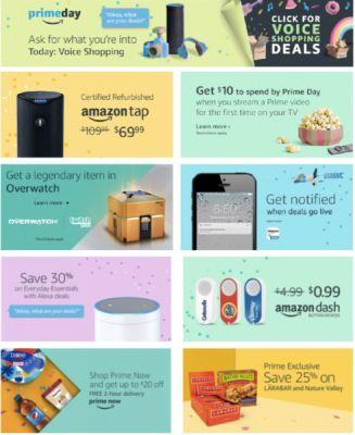 Amazon's Strategy is Clearly Outlined in Prime Day Offers