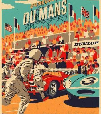 Beautiful Vintage Poster