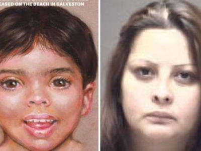 Toddler found dead on Texas beach identified; mother, her girlfriend arrested