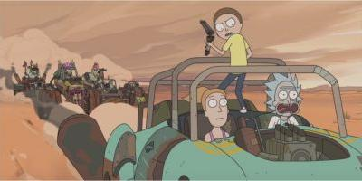 Watch 'Rick and Morty' Go to the Wasteland of 'Mad Max', Justin Roiland Is Getting His Szechuan Sauce