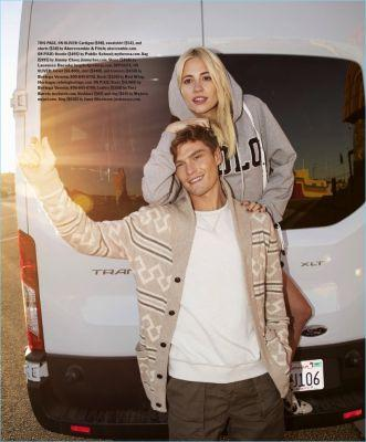 Lust for Life: Oliver Cheshire & Pixie Lott Star in Esquire's The Big Black Book