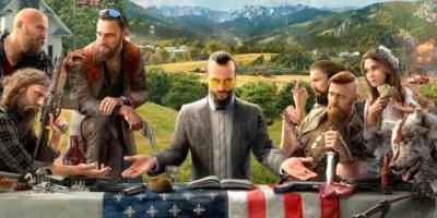 Far Cry 5 teased ahead of Friday's reveal with a piece of artwork showing a cultish group
