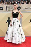 Don't Stare at Natalia Dyer's Dress For Too Long Because It'll Put You in a Trance