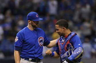 Cubs win 2-1 in Maddon's return to Trop, extend streak to 7