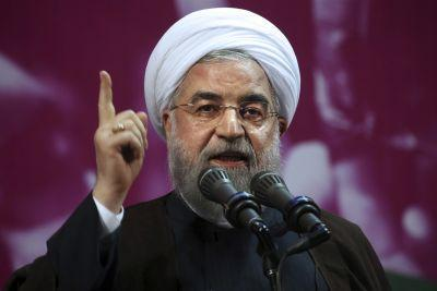 Iran's president Hassan Rouhani wins second term