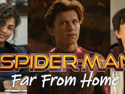 Peter's Classmates Return in Spider-Man: Far From Home Set Photo