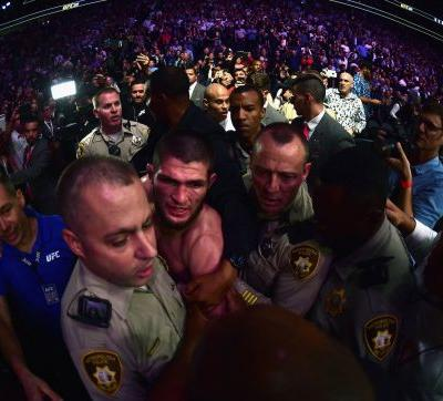 3 arrests have already been made after a post-fight brawl marred Khabib Nurmagomedov's massive victory over Conor McGregor