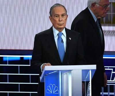 Michael Bloomberg's campaign implodes onstage in Nevada Democratic debate