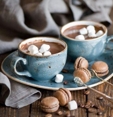 Brb, drowning in hot chocolate for the next 4 months.Via