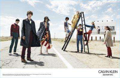 Calvin Klein 205W39NYC Hits the Road for Fall '17 Campaign