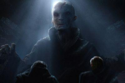 SPOILER ALERT: First Image of Supreme Leader Snoke from 'Star Wars: The Last Jedi' Has Been Leaked