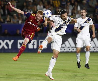 Zlatan brace lifts LA Galaxy by Real Salt Lake, 3-0