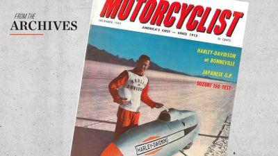 Motorcyclist Archives 1965: First 6-Speed Motorcycle Introduced In US