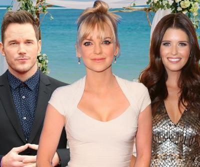 Anna Faris jokes she'd marry Chris Pratt and Katherine Schwarzenegger