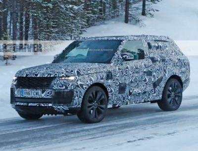 2020 Range Rover SV Coupe Spied: Dropping Doors, Like Before
