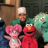 Already the Coolest Dad, Chance the Rapper Gushes Over His Daughter on Sesame Street