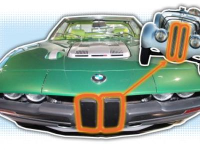Bertone Once Created What May Be the Funniest Take on BMW's Kidney Grilles