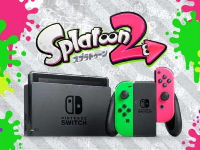 Neon Pink/Green Joy-Cons For Nintendo Switch Launching In US