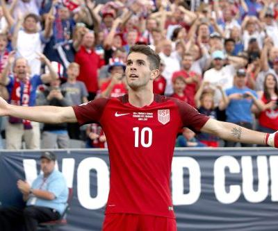 U.S. Soccer star Christian Pulisic speaks out on failure to qualify for World Cup