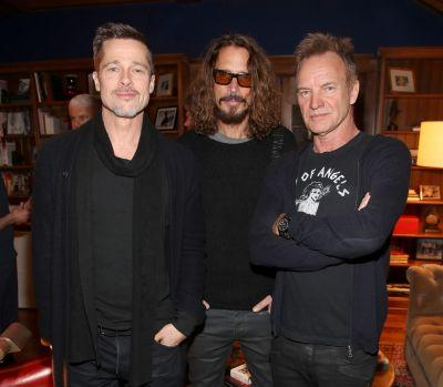 """Brad Pitt Is """"Devastated and in Shock"""" About Friend Chris Cornell's Death"""