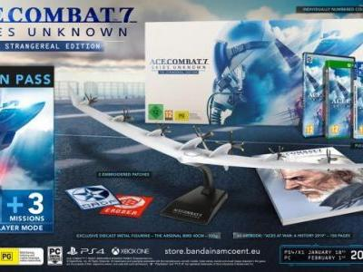 Ace Combat 7: Skies Unknown Collector's Edition Announced for Europe