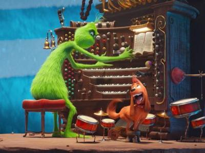 'The Grinch' directors explain how the character has an unlimited amount of money