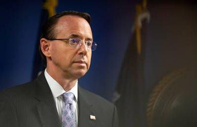 Deputy AG Rod Rosenstein to resign - report