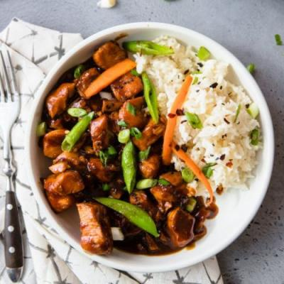 General Tso's Instant Pot Chicken