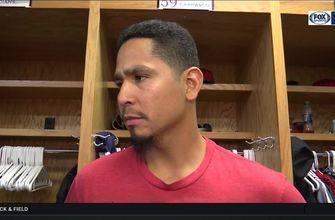 Carlos Carrasco talks about keeping his focus when the score is 0-0