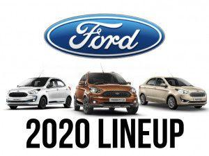 2020 BS6 Ford Aspire Sub-4m Sedan Freestyle Cross Hatchback and Figo Hatchback Launched In India At Rs 599 Lakh Rs 589 Lakh And Rs 539 Lakh Respectively