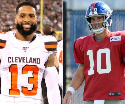 Odell Beckham's gentle response to the Giants' Eli Manning switch