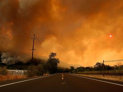 California wildfires torch the legalization hopes of pot growers