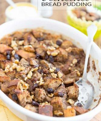 Refined Sugar Free Banana Bread Pudding