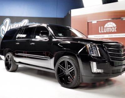 The Weeknd Adds an Escalade to His Collection