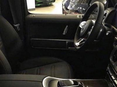 2019 Mercedes G-Class Interior Shows Up In New Leaked Images