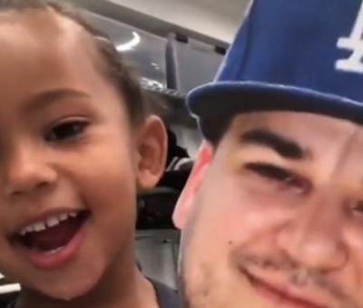 Saint West Pretends to Be Uncle Rob Kardashian - And It's So Stinkin' Cute: 'You Tricked Me!'