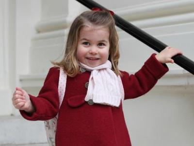 We're Freaking Out About Princess Charlotte's Adorable First Day of School Outfit