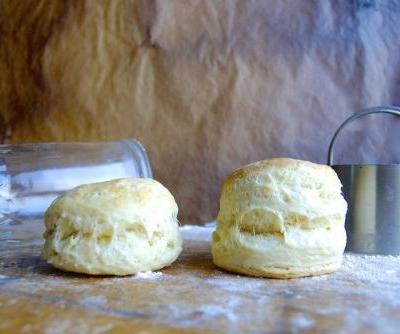 How to make high-rising biscuits