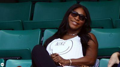 One Baby Don't Stop No Show: Serena Williams Hits The Tennis Court While Seven Months Pregnant