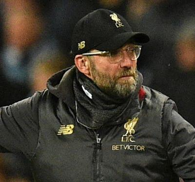 Kompany should have seen red, insists Klopp after Man City defeat