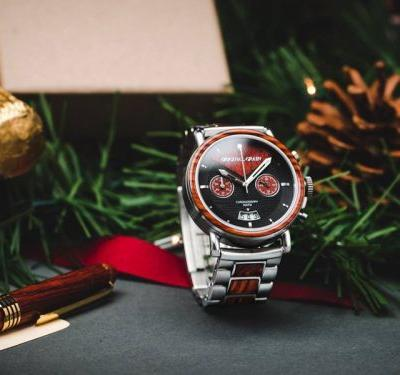 This Oregon-based startup makes unique wood watches for a great case - and it's running a Cyber Week sale
