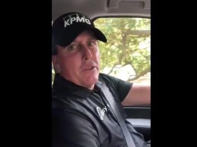 Phil Mickelson released a great hype video before the third round of the Masters declaring that he was ready to 'hit bombs and attack the pins'