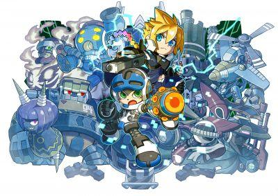 Mighty Gunvolt Burst looks streets ahead of the original